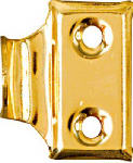 National Mfg/Spectrum Brands Hhi N115-691 Window Sash Lifts, Bright Brass, 2-Pk.