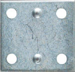National Mfg/Spectrum Brands Hhi N220-087 4-Pack 1-1/2 x 1-3/8-Inch Zinc Mending Plate