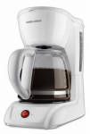 Applica/Spectrum Brands CM1200W 12-Cup Coffeemaker, White