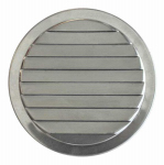 Construction Metals ML3 Mini Round Louvers 3 In. Aluminum