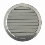 Construction Metals ML4 Mini Round Louvers 4 In. Aluminum