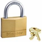 Master Lock 150D 2-Inch Solid-Brass Body 5-Pin Tumbler Padlock