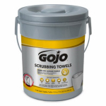 Gojo Industries 6396-06 Scrubbing Wipes, 72-Ct.