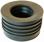Fernco P44U-405 Pipe Fitting, Cast Iron Hub Donut, 4-In.