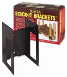 Seymour Mfg 30-360 Stack It Fireplace Bracket Set