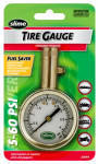 Itw Global Brands 20049 Tire Gauge, Brass, 5-60 PSI
