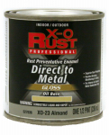 True Value Mfg XO23-HP Oil Base Paint, Gloss, Almond, Interior/Exterior, 1/2-Pt.