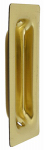 National Mfg/Spectrum Brands Hhi N115-774 Flush Door Pull, Brass, 3.25 x 1-3/8 In.