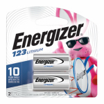 Eveready Battery EL123APB2 ENER2PK 3V Lithium Battery