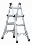Louisville Ladder L-2098-13 13-Ft. Multi-Purpose Ladder, Aluminum, Type IA, 300-Lb. Duty Rating