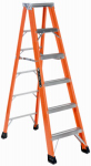 Louisville Ladder FS1306HD 6-Ft. Heavy-Duty Step Ladder, Fiberglass, Type IAA, 375-Lb. Duty Rating