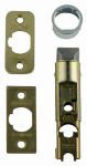 Kwikset 1826-18 CP Polished Brass 6-Way Adjustable Plain Latch