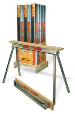 - Quantity 1 30-In Fulton QP4230-12 Sawhorse Heavy-Duty Galvanized Steel