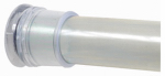 Zenith/Bathware 608S Adjustable 60-Inch Tension Shower Rod, Chrome