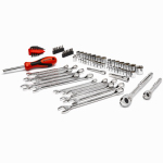 Apex Tool Group CTK70MP Tool Set, SAE/Metric, 70-Pc.