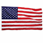Annin Flagmakers 021850R Nylon Replacement U.S. Flag, 2-1/2 x 4-Ft.