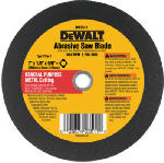 Dewalt Accessories DW3511 Metal Abrasive Blade, 7-In.