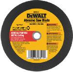 Dewalt Accessories DW3511 Metal Abrasive Blade, 7-In.