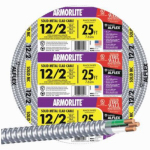 Marmon Home Improvement Prod 1482-1602A 25-Ft. 12/2 ACT Armored Cable