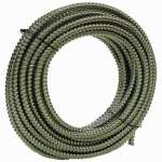 Afc Cable Systems 5601-30-AFC Conduit, Reduced Wall, Aluminum, 3/8-In. x 100-Ft. Coil