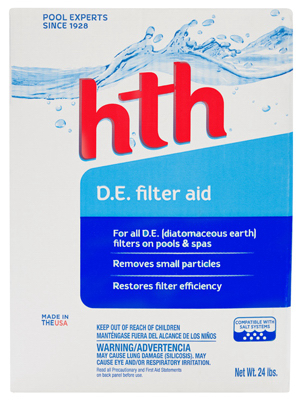 Hth Arch 67073 25lb Diatomaceous Earth Pool Filter Aid