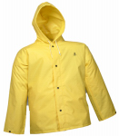 Tingley Rubber J56107.LG Durascrim Jacket, Yellow PVC, Large