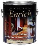 True Value Mfg 0120-GL Enrich Gallon Gloss Polyurethane Varnish