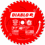 Freud D0740X 7.25-Inch 40-TPI Diablo Finishing Blade