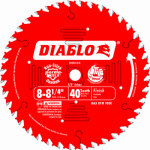 Freud D0840X 8.25-Inch 40-TPI Diablo Finishing Blade