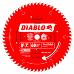 Freud D0860S Diablo Slide Compound Miter Blade, 8.5-In., 60-Teeth