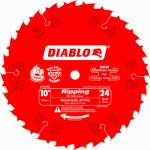 Freud D1024X 10-Inch 24-TPI Diablo Rip Blade