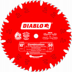 Freud D1050X 10-Inch 50-TPI Diablo Combination Blade