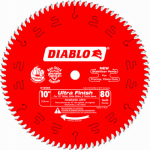 Freud D1080X 10-Inch 80-TPI Diablo Ultra Fine-Finish Blade