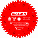 Freud D1244X 12-Inch 44-TPI Diablo Finishing Blade