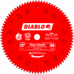 Freud D1280X 12-Inch 80-TPI Diablo Fine-Finishing Blade