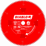 Freud D1296N Diablo Ultra-Fine Non-Ferrous Metal-Cutting Blade, 12-In., 96-Teeth