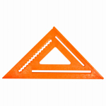 Johnson Level & Tool RAS170B-ORA Rafter Angle Square, Orange Plastic, 12-In.