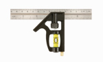 Johnson Level & Tool 406EM 6-Inch Contractor-Grade Combo Square