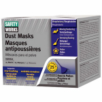 Safety Works 10059526 25-Pack Non-Toxic Dust Masks