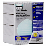 Safety Works 10028560 50-Pack Non-Toxic Dust Masks