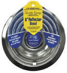 Stanco Metal Prod 701-6 Electric Range Reflector Bowl, Removable Element, Chrome, 6-In.