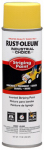 Rust-Oleum 1648838 Industrial Choice Striping Paint, Yellow, 17-oz. Inverted Aerosol