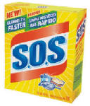 Clorox The 98018 S.O.S. 18-Count Steel Wool Soap Pads