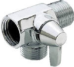 Delta Faucet 542327 Chrome Finish Shower Flow Diverter With Arm Control