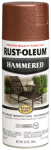 Rust-Oleum 210849 Stops Rust Hammered Spray Paint, Copper, 12-oz.