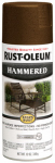 Rust-Oleum 210880 Stops Rust Hammered Spray Paint, Brown, 12-oz.