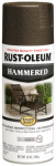 Rust-Oleum 7218-830 Stops Rust Hammered Spray Paint, Dark Bronze, 12-oz.