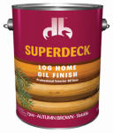 Duckback DB-7300-4 Gallon Autumn Brown Exterior Log Oil - Pack Of 4