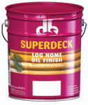 Duckback DB-7300-5 5 Gallon Autumn Brown Exterior Log Oil