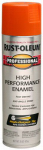 Rust-Oleum 7555-838 High-Performance Spray Enamel, Safety Orange, 15-oz.